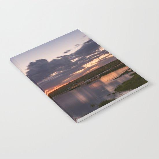 Rainy Lanescove Sunset Notebook