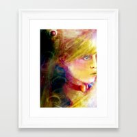sailor moon Framed Art Prints featuring Sailor Moon by Dyna-Soar!