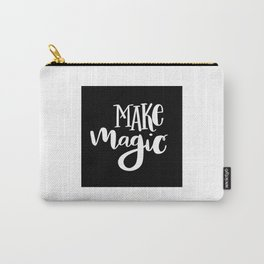 Make Magic: black Carry-All Pouch
