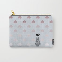 SEA OF HEARTS Carry-All Pouch