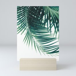 Palm Leaves Green Vibes #4 #tropical #decor #art #society6 Mini Art Print