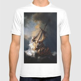 Rembrandt's The Storm on the Sea of Galilee T-shirt
