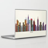 atlanta Laptop & iPad Skins featuring Atlanta city  by bri.b