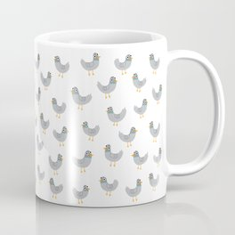 Cat Among The Pigeons Coffee Mug