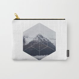 Snow Mountain - Geometric Photography Carry-All Pouch
