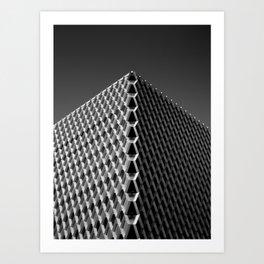 frequency.mono Art Print