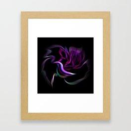 Flowermagic - Rose Framed Art Print