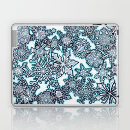 Gentle Snowstorm Laptop & iPad Skin