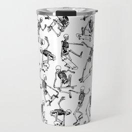 Grim Ripper WHITE Travel Mug
