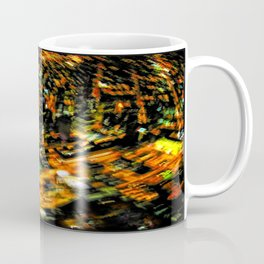 """City lights through a different lens – """"Perpetual Motion"""" Coffee Mug"""