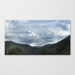Princess Mononoke Landscape Canvas Print