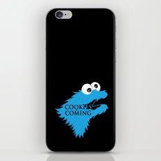 Cookies are coming iPhone & iPod Skin