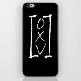 FREQUENCIES (OXV: THE MANUAL) LOGO iPhone Skin