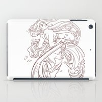 mucha iPad Cases featuring Mucha Inspired by Jon Cain
