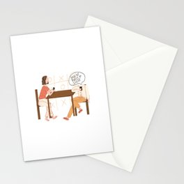 Love At First Sight At My Phone Stationery Cards