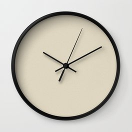 Pearl Brown Pixel Dust Wall Clock