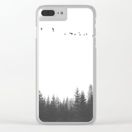 in the forest °1 Clear iPhone Case