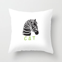 Let's confuse the children. Throw Pillow