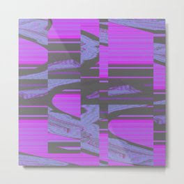 Virus 1.A Metal Print