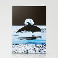 dolphin Stationery Cards featuring Dolphin by John Turck