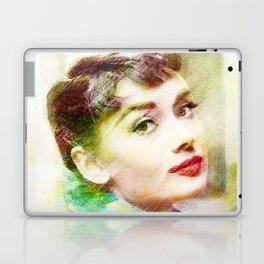 Audrey H.  Laptop & iPad Skin