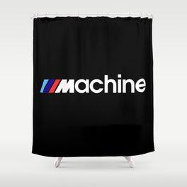 BMW Machine Shower Curtain