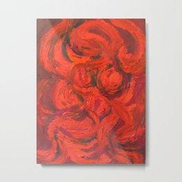 Fire Woman Metal Print