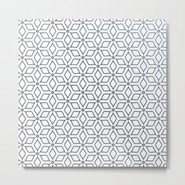 Modern Pattern Art Prints Metal Print