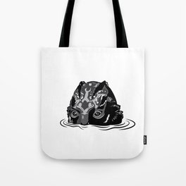 The Shape of Water_The Fishman_Black&white Tote Bag