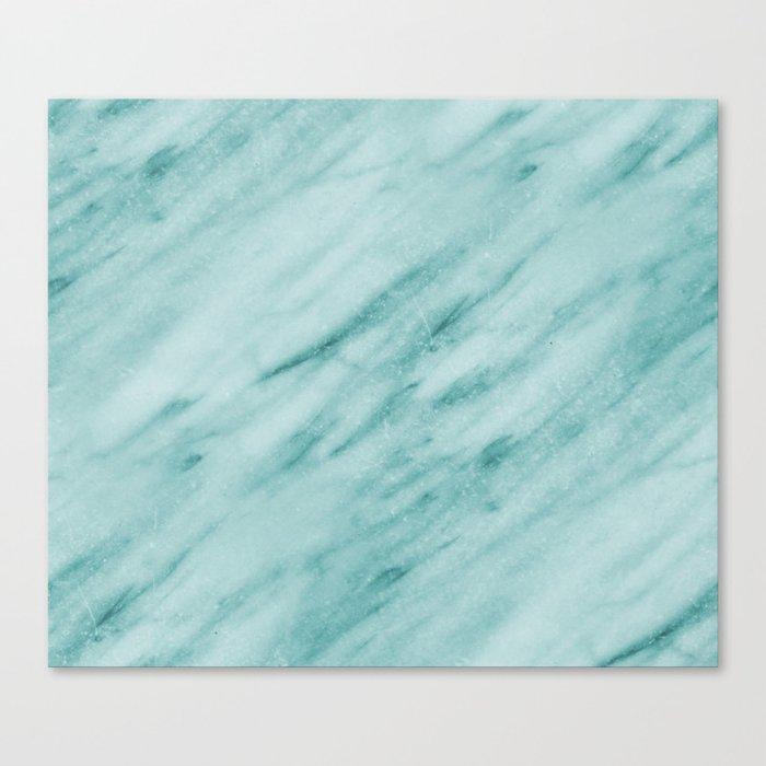 Audace Turchese green marble Leinwanddruck