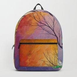 Chakra Tree of Crystals Backpack