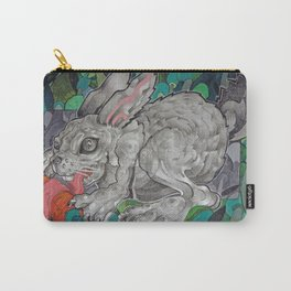 Greedy Bunny Carry-All Pouch