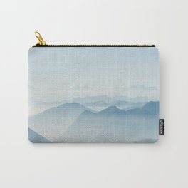 pastel blue panorama #society6 #decor #buyart Carry-All Pouch