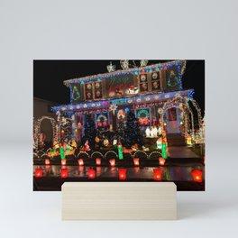 Wow that's Christmas spirit Mini Art Print
