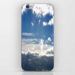 Windy Day Sky iPhone Skin