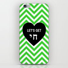 Let's get chai. iPhone & iPod Skin