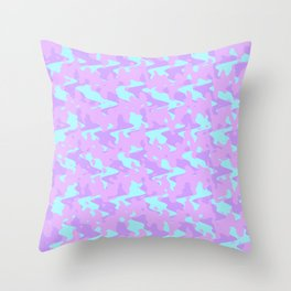 Abstract 2 ZQ RD Throw Pillow