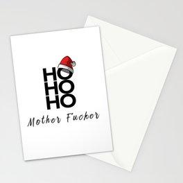 HO HO HO Mother Fucker Stationery Cards