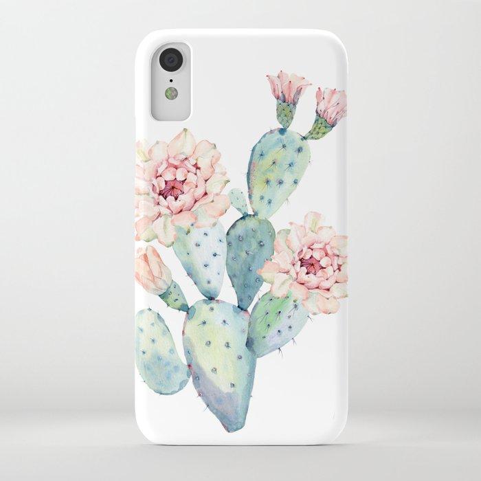 The Prettiest Cactus iPhone Case