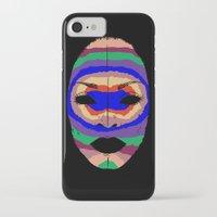 erykah badu iPhone & iPod Cases featuring Badu mask by martiszu