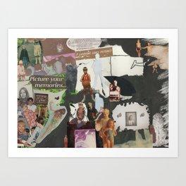 Alzheimer's  Art Print