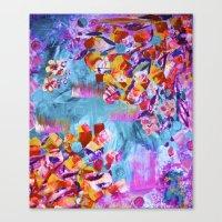 wonderland Canvas Prints featuring wonderland by Lara Gurney
