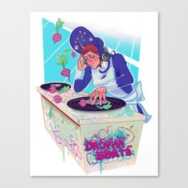 Amelia Bedelia drops the beat Canvas Print