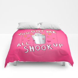 You Got Me All Shook Up Comforters