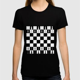Chess Board Layout T-shirt