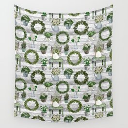 Farmhouse Botanicals Wall Tapestry