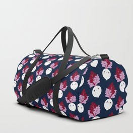 Cute white beetroots Duffle Bag