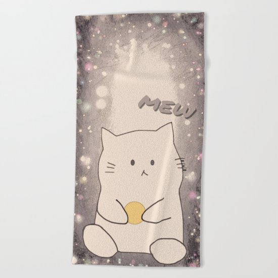 cat-363 Beach Towel