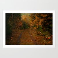 Hatchery Road Art Print