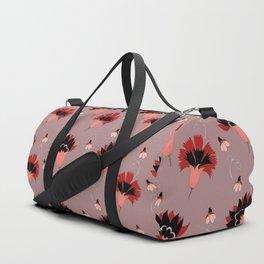 Coral Vintage Duffle Bag